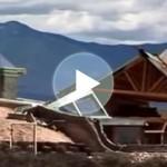 Las casas autónomas con materiales de la basura de Michael Reynolds