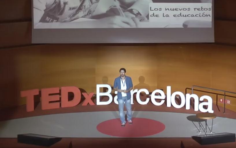Una educación a la medida del alumno donde éste es el protagonismo en la conferencia de Cesar Bona en Tedx Barcelona